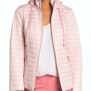 Kate Spade Women's Quilted Packable Hood Jacket